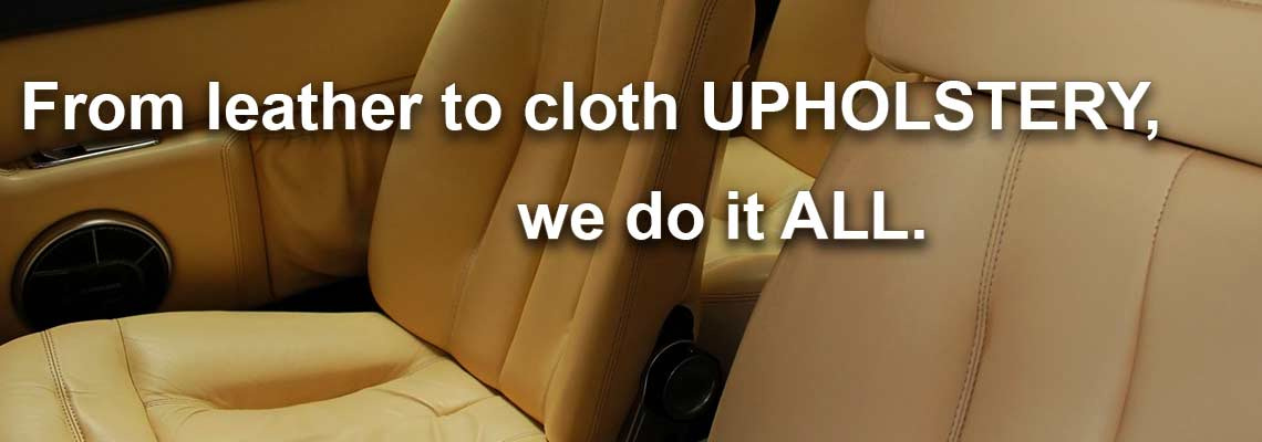 upholster car seats